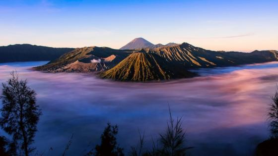 Mount Bromo - Bromo Tengger Semeru National Park, Indonesia wallpaper