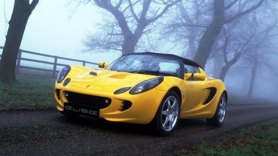 Lotus Elise supercar wallpaper