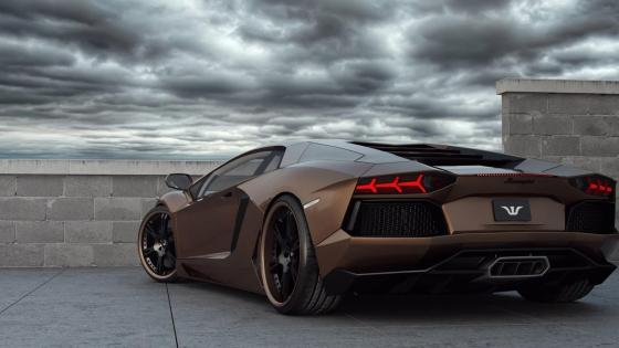 Lamborghini  Aventador luxury car wallpaper