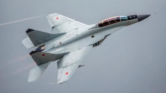 MiG-35 fighter jet wallpaper