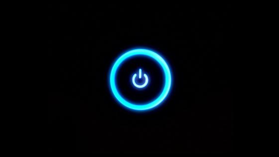 Power button wallpaper