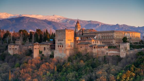 Alhambra Palace - Granada, Spain  wallpaper