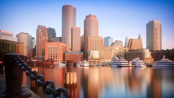 Skyscrapers of Boston wallpaper