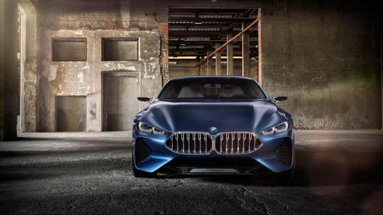 BMW 8 Series concept car wallpaper