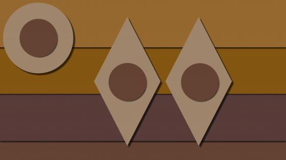 Brown material design graphics wallpaper