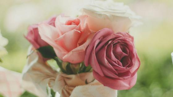 Rose bouquet wallpaper