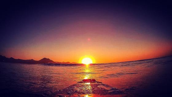 Ubatuba sunrise wallpaper
