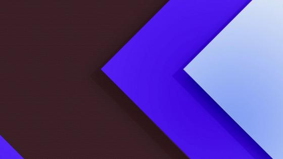 Blue Material Design wallpaper