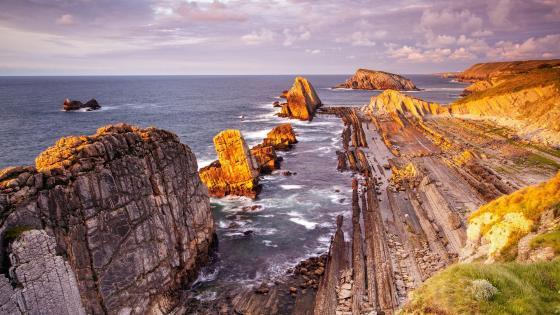 Death Coast (Costa da Morte), Galicia, Spain wallpaper