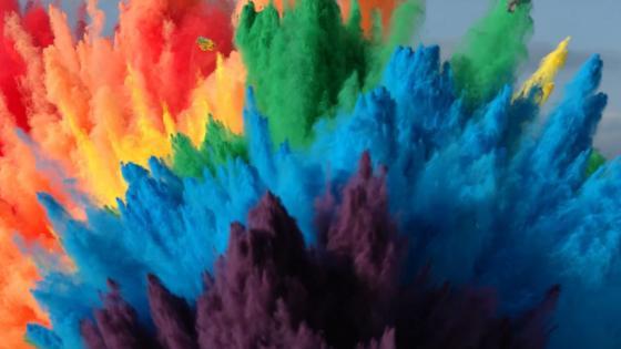 Rainbow Colours wallpaper