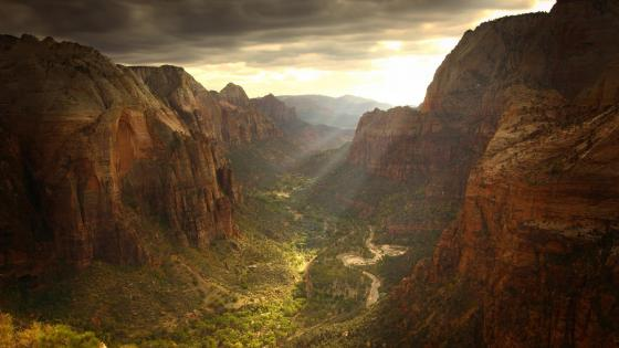 Zion Canyon - Zion National Park wallpaper