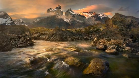 Torres del Paine National Park - Chile wallpaper
