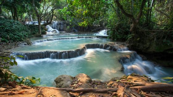 Erawan National Park - Thailand wallpaper