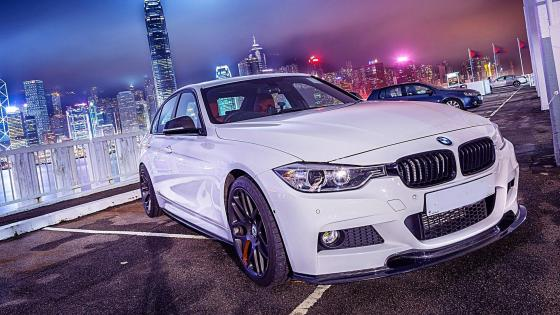 BMW 3 Series Gran Turismo in Hong Kong wallpaper