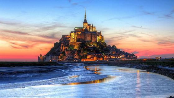 Mont Saint-Michel - Normandy, France wallpaper