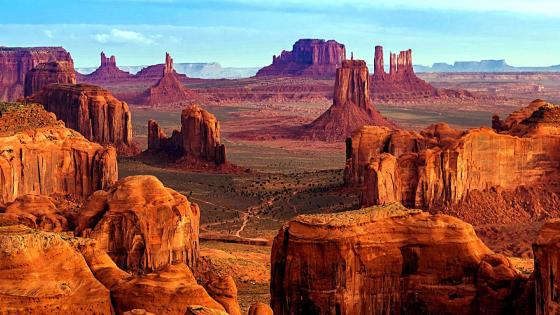 Monument Valley Desert Canyon wallpaper