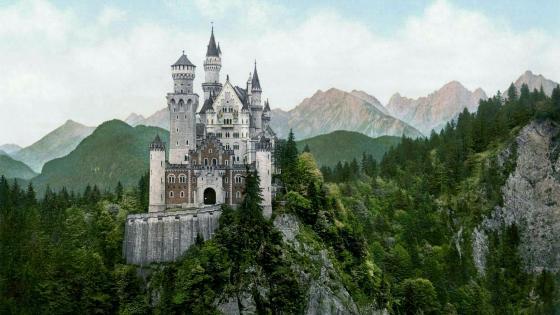 Neuschwanstein Castle - Bavaria, Germany wallpaper