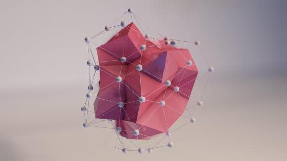 3D Polygon wallpaper