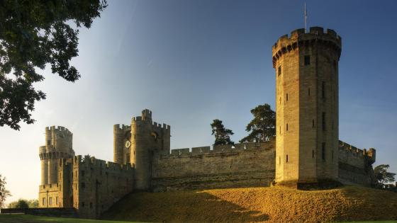 Warwick Castle  wallpaper