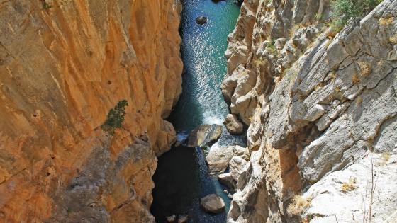 View from Rio Grande Gorge Bridge wallpaper