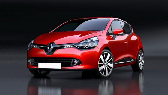 Renault Clio 4 Rouge wallpaper