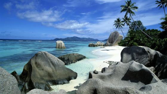 La Digue Island, Seychelles ☀️  wallpaper
