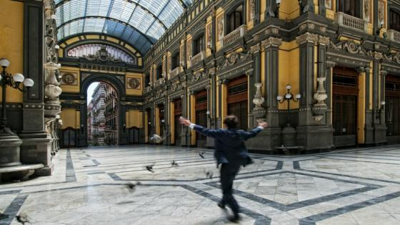 Galleria Principe di Napoli - Prachtige passage wallpaper