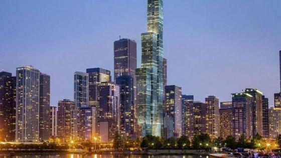 Chicago metropolitan area wallpaper