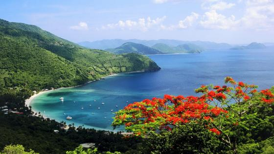 Tortola view, British Virgin Islands wallpaper