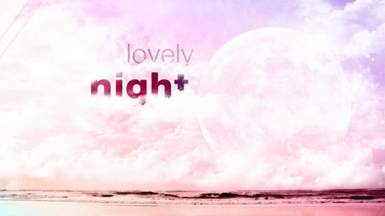 Lovely night wallpaper