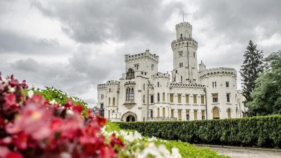 Hluboká nad Vltavou Castle wallpaper