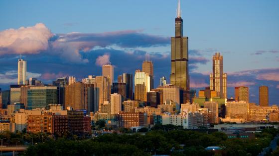 Willis Tower - Chichago, Illinois, USA wallpaper