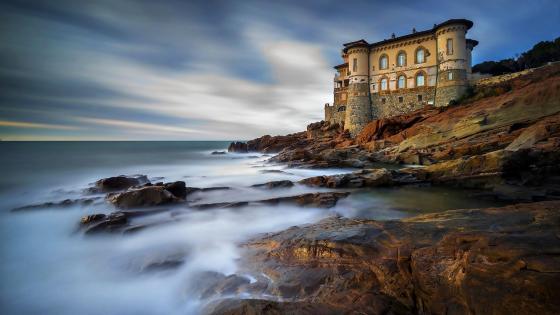 Boccale Castle - Livorno, Tuscany, Italy wallpaper