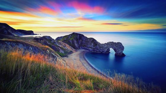 Durdle Door, Jurassic Coast - Dorset, England wallpaper