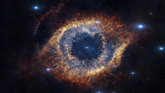 Eye of God - Helix Nebula wallpaper