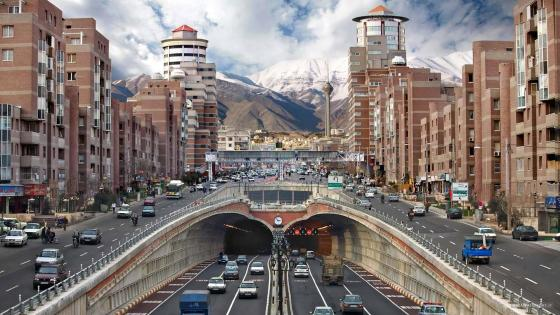 Tohid Tunnel in Tehran, Iran wallpaper
