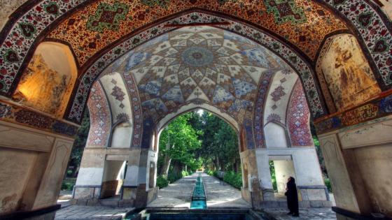 Fin Garden - Iran wallpaper