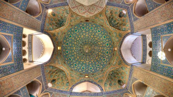 Jameh mosque of Yazd wallpaper