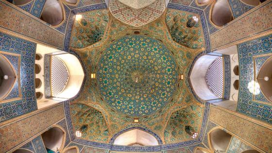 Jameh mosque of Yazd wallpaper