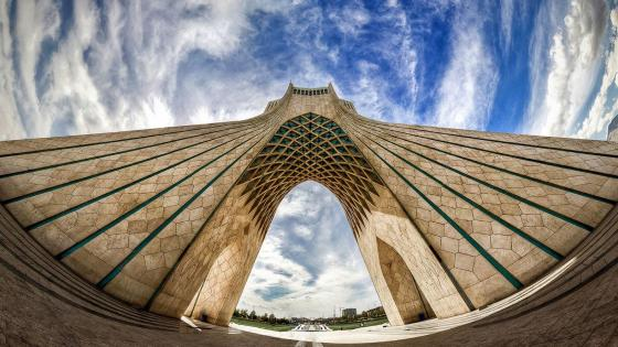 Azadi Tower in Tehran wallpaper