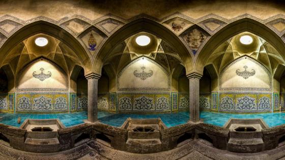 Ali Gholi Agha Bathhouse wallpaper