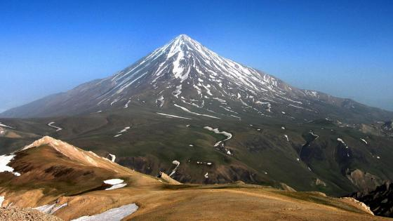 Mount Damavand wallpaper
