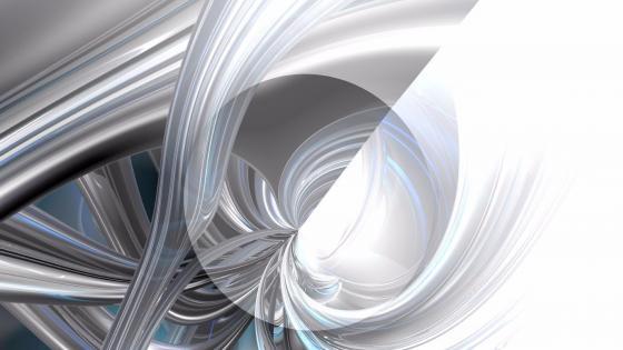 3D tubes - Graphic design wallpaper