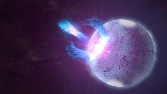 Magnetized neutron star wallpaper