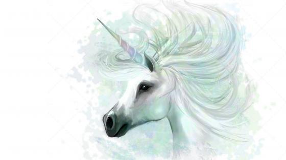 Unicorn art wallpaper