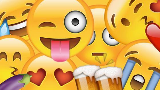 Happy emoticons wallpaper