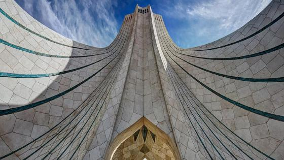 Azadi tower (or Borj-e-Azadi) - Iran wallpaper