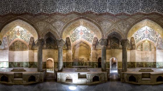 Kordasht bath, Jolfa, Iran wallpaper