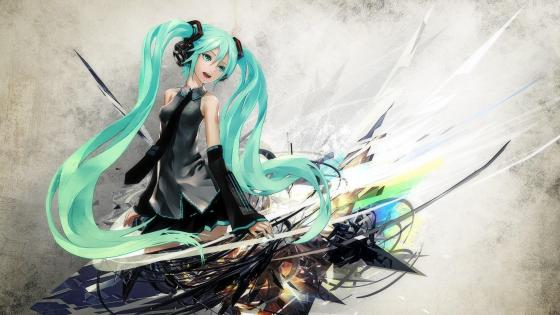 Hatsune miku wallpaper