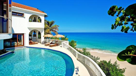 Caribbean waterscape from Anguilla  wallpaper